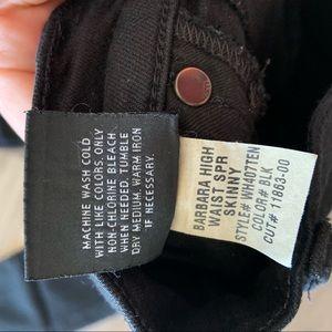 Hudson Jeans Jeans - Hudson Barbara High Waist Super Skinny Jeans Black